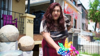 Ruby Corado, founder of Casa Ruby, the only LGBTQ specific homeless shelter in the District.